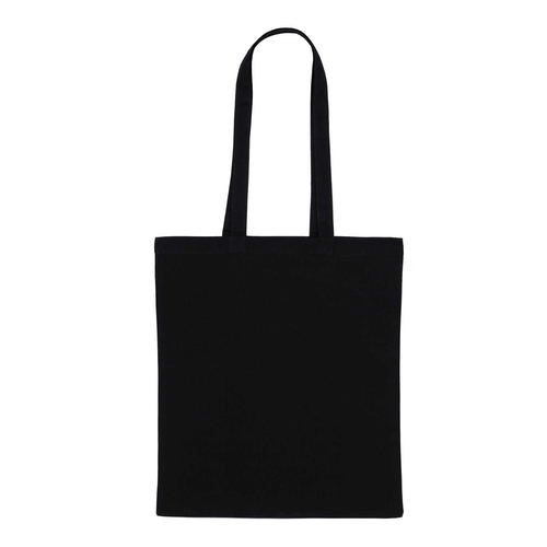 Black cotton bag