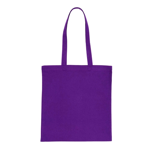 Purple Cotton Bag