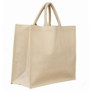 Laminated Canvas Bag