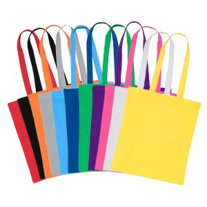 Colour Cotton Bags Range