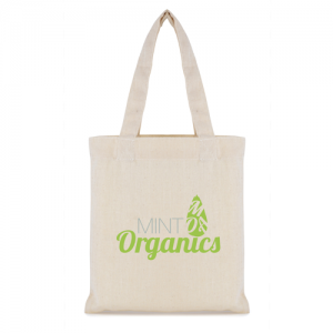 mini cotton bag natural