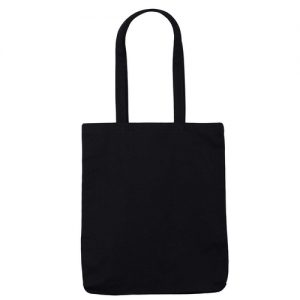 Black Canvas 10oz Bag Front
