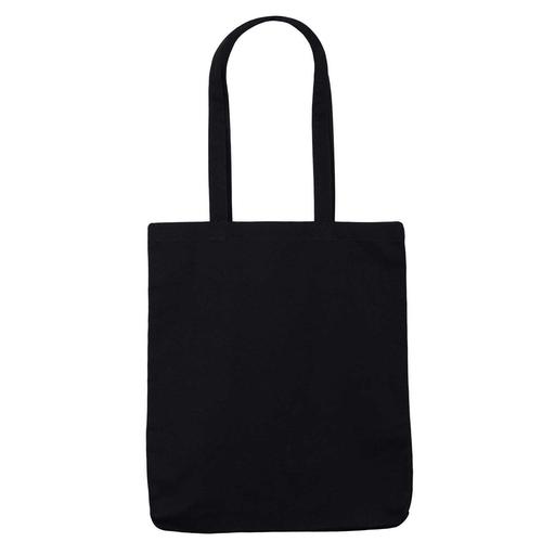 Black Canvas 10oz Bag Front