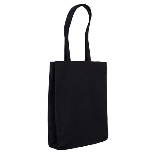 Black Canvas 10oz Bag Side