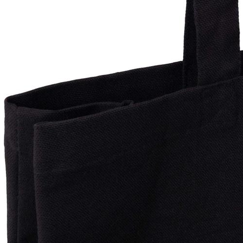 Black Canvas 10oz Bag Top