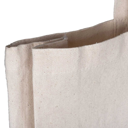 Natural 10oz Canvas Gusset Top