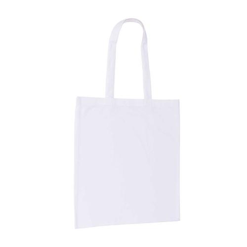 White 8oz Canavs Bag Side