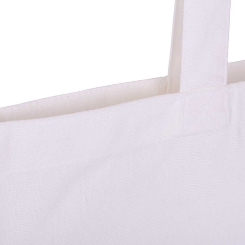 White 8oz Canavs Bag Top