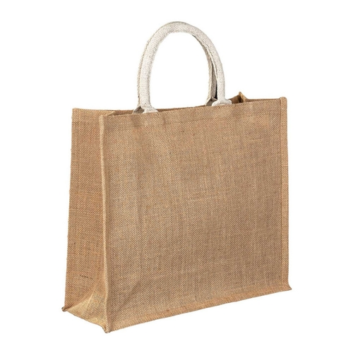 Medium Jute Bag Side