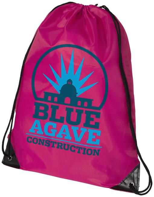 Magenta Drawstring Bag