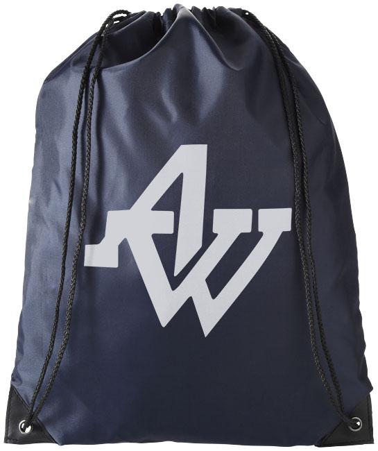 Navy Drawstring Bag
