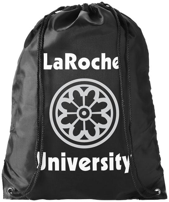 Black Drawstring Bag