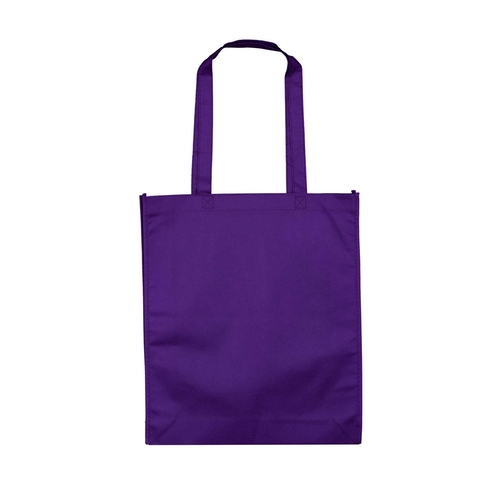 Purple non woven bag