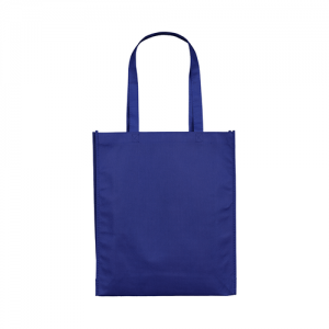 Blue non woven bag